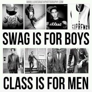 Haha, yes. :)  And classy men are for classy ladies!