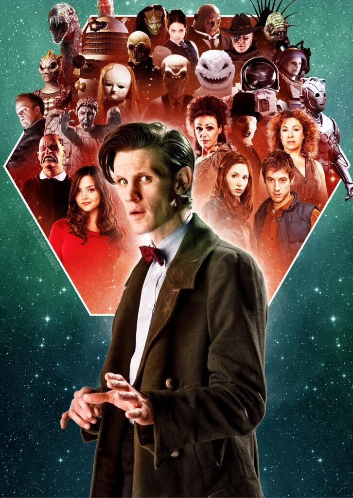 Doctor Who - Matt Smith - @Style Space & Stuff Blog @AbdulAziz Bukhamseen Home Sweet Home Blog @عبدالعزيز الجسار Bukhamseen Home Sweet Home Blog King first Doctor...good luck Sam.