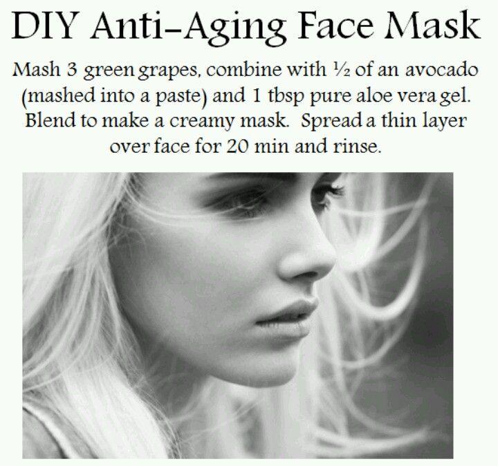 DIY ANTI AGE MASK