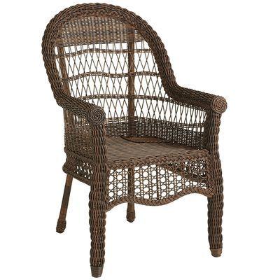 Sunset Pier Dining Chair -  Chestnut Brown