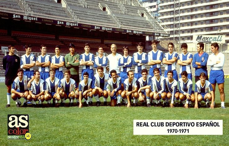 14 - Real Club Deportivo Español 70-71.