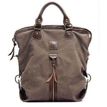 #10 ANDREA™ Causal big canvas bag vintage