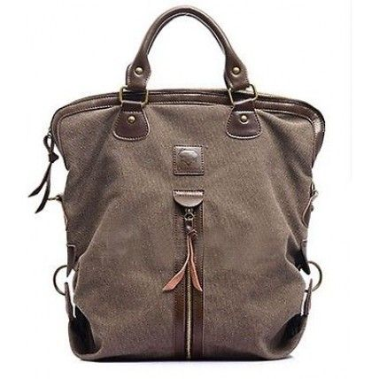 #10 ANDREA™ Causal big canvas bag vintage