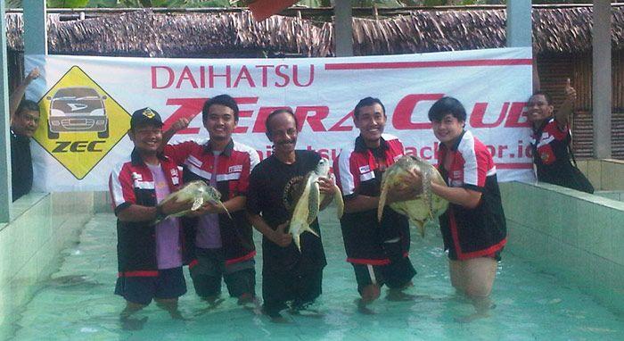Daihatsu Zebra Club : JJB Sembari Dukung Pelestarian Penyu