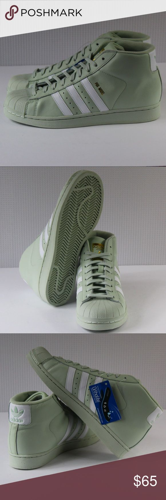 Adidas BRAND NEW!!! Adidas Pro Model. Youth size 6/Women's 7.5. Youth size 7/Women's size 8.5. Classic shell toe high top design. Brand new without box. Don't miss this deal!!! adidas Shoes Sneakers