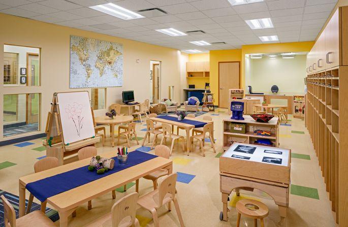 Reggio Classroom Decor ~ Stonehill taylor projects bright horizons at new