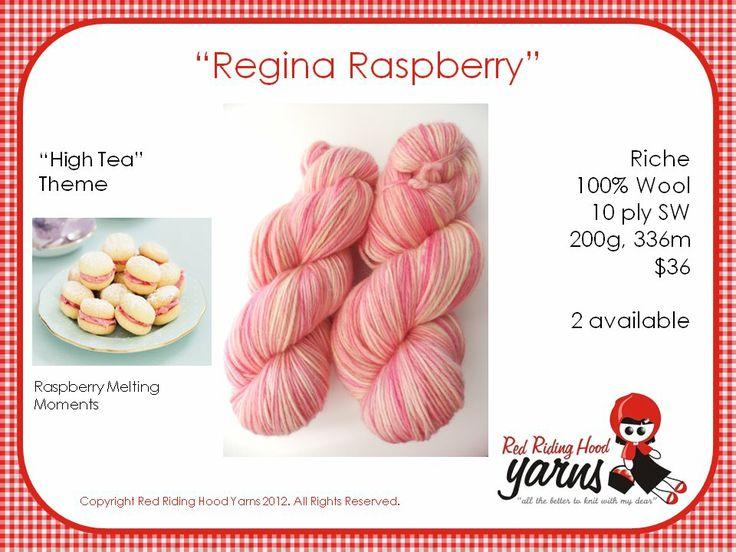 Regina Raspberry - High Tea | Red Riding Hood Yarns