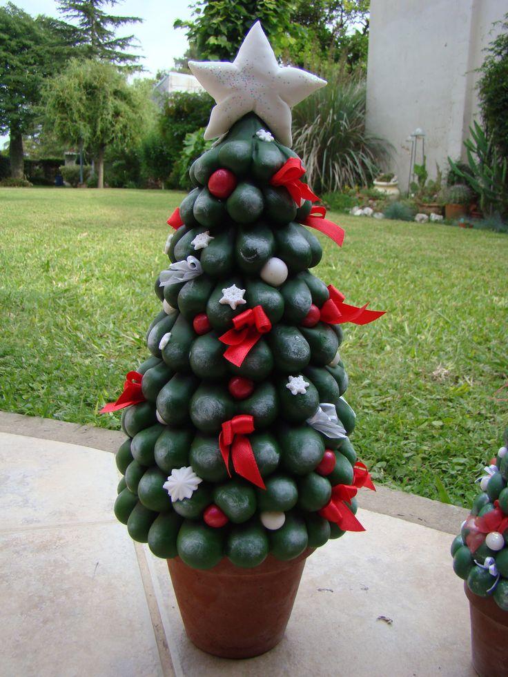 58 best images about navidad en porcelana fria on - Arbolito de navidad ...