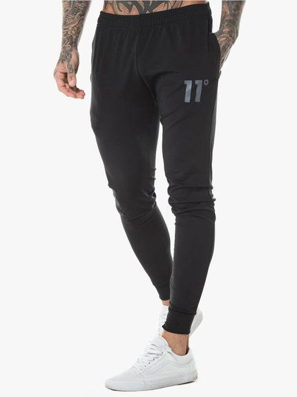 5fdff5983c5d 11 Degrees Poly Joggers Black | Outfit by Tino | Pantalones sueltos ...