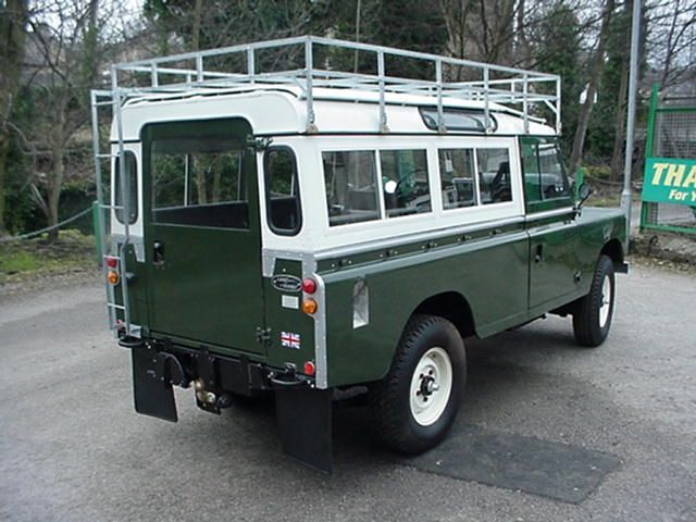 Land Rover Series III 109 3 Door With Roof Rack, Safari Roof | Land Rover |  Pinterest | Land Rovers, Roof Rack And Land Rover Defender