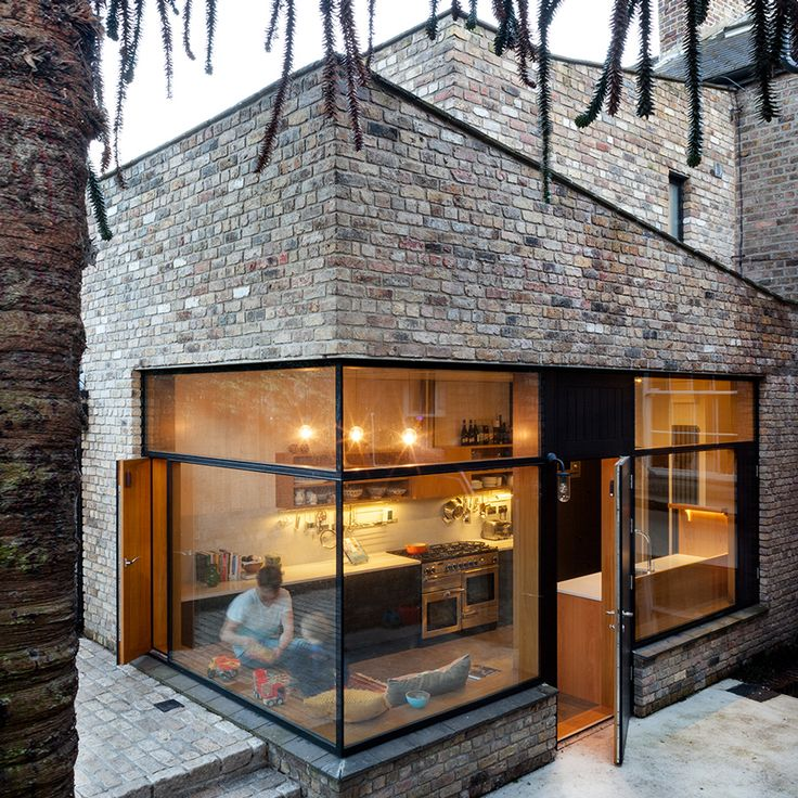 Irish Studio NOJI Architects Built This Angular Extension To A Historic Dublin House With Reclaimed Bricks
