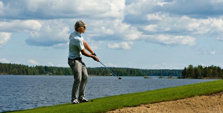 Golfplatz in Imatra