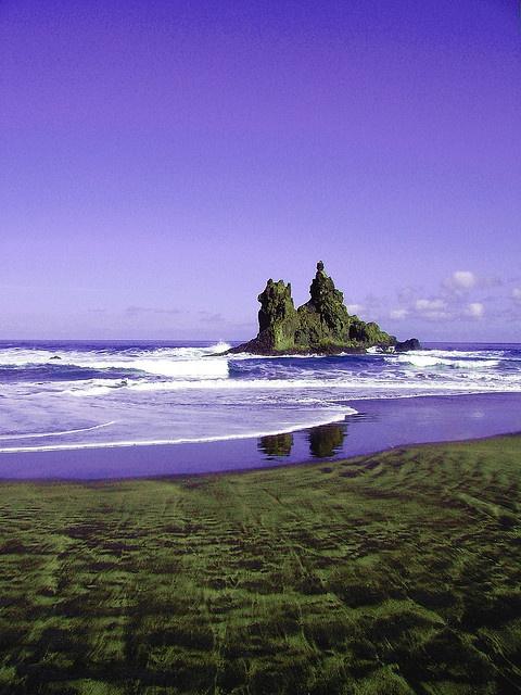 La playa de Benijo en #Tenerife, uno de los lugares mas encantadores de la isla