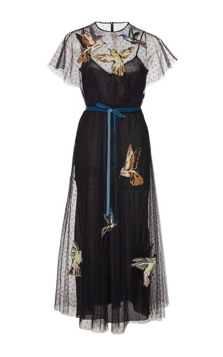 Bird Motif Dress by Red Valentino | Moda Operandi
