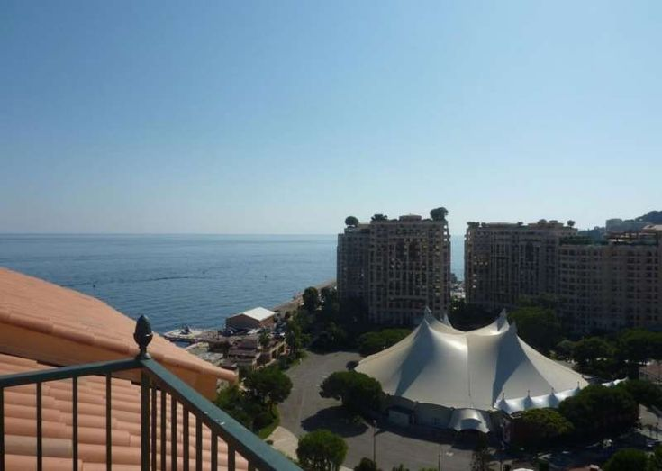 Duplex penthouse with panoramic view #Monaco  ROSA MARIS  Modern building located in the Fontvieille Marina, with large summer swimming pool and gardens.  Magnificient three room duplex penthouse with breathtaking views over the sea, the mountains and the Rock.   1 (small) parking space  - At the lower floor (12. floor) : entrance hall, 2 https://aiximmo.ch/?p=187811  #frenchriviera #cotedazur #mallorca #marbella #sainttropez #sttropez #nice #cannes #antibes #montecarlo