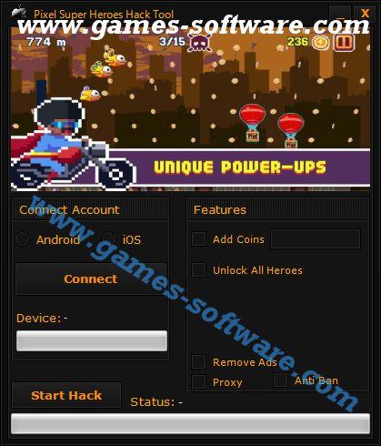 Pixel Super Heroes Hack Tool