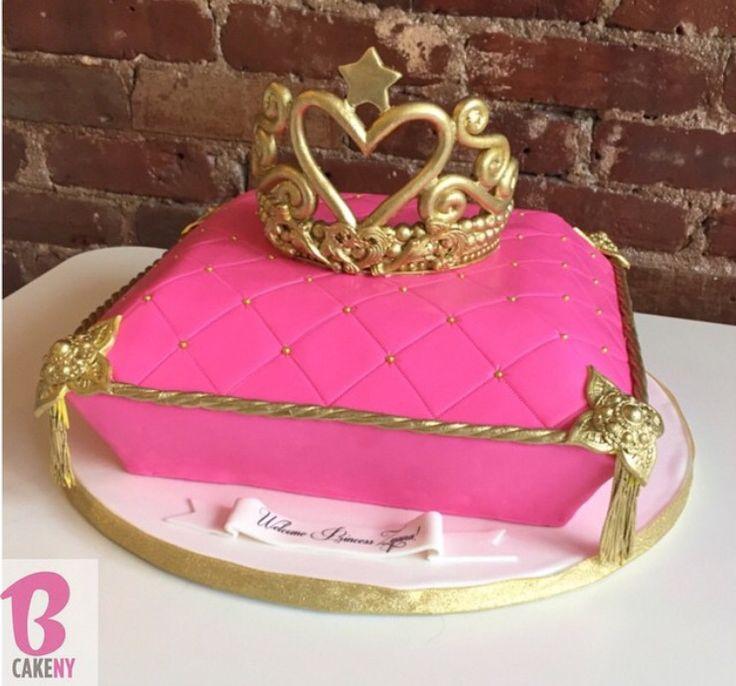Pillow Amp Tiara Cake Bcakeny Pillow Cakes Tiara Cake