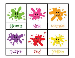 Preschool Printables: Colors