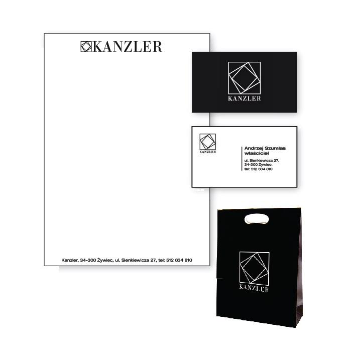 Identyfikacja wizualna dla firmy meblarskiej Kanzler