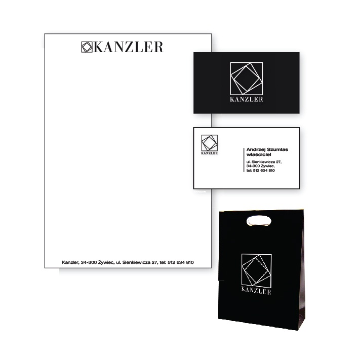 Corporate identity for Kanzler
