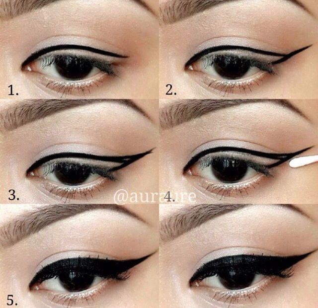 L'eye-liner pour les nulles (tutos + astuces                                                                                                                                                                                 Plus
