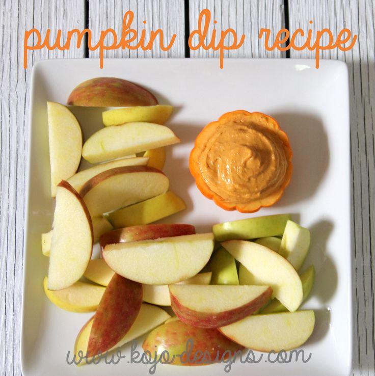 yummy fall recipe- pumpkin dip (serve with apples, ginger snaps, etc.)