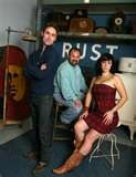 Some day I will Meet you! Mike, Frank, and Danielle from American Pickers.(Danielle.......yeah she's hot ^_^)