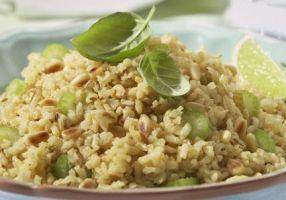 Riz brun pilaf aux pignons grillés - Recettes - Cuisine française