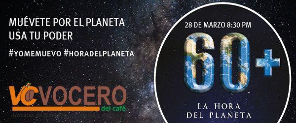 Alcaldía de Pereira se suma a la hora del planeta