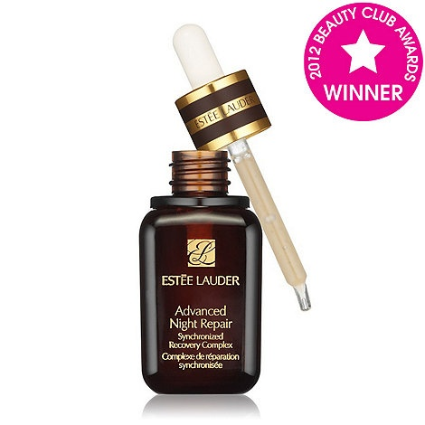 Estee Lauder Advanced Night Repair Synchronized Recovery Complex. Great repair serum and does what it says. One of the best products offered by EL.