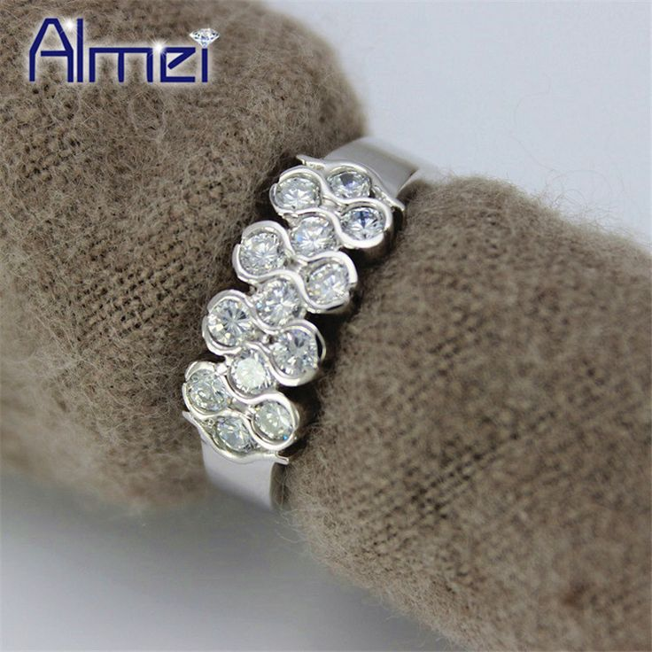 Find More Rings Information about Sterling Silver Ring Jewelry for Women Wedding Band,Aneis de Diamante,Rhinestone Ring Size 6 7 8 9 Weight 3.2g,Anel Sillver Y020,High Quality accessories prom,China accessories teens Suppliers, Cheap accessories green from Almei Jewelry Store on Aliexpress.com