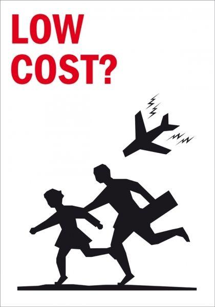 "Nacho Clemente. ""Low Cost?"". Gráfica activista."