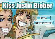 Besar a Justin Bieber | juegos de besos - jugar online