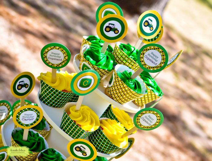John Deere party: Carter is 5 and Copeland is 2! | Chickabug