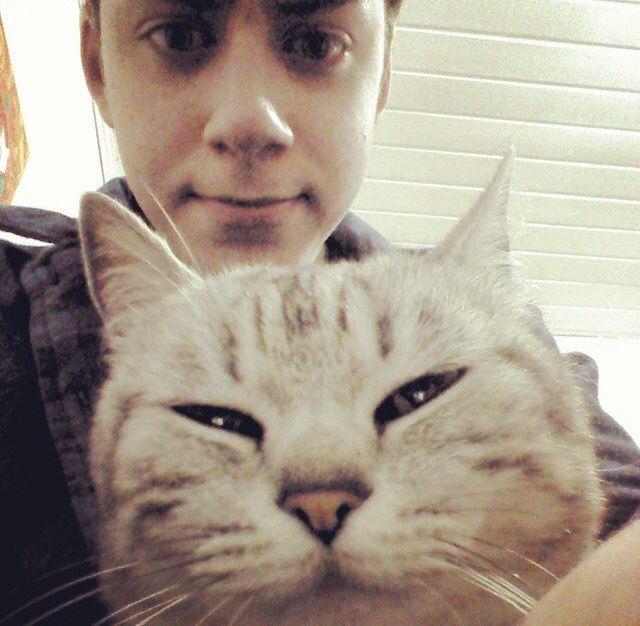 Cellbit e um Gato