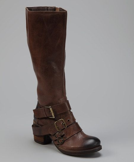 Brown Outlawed Leather Boot