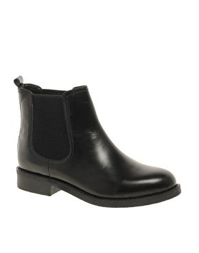 Image 1 ofASOS ATHENS Leather Chelsea Ankle Boots  (another S/O: @Rosie HW HW Jarman!)