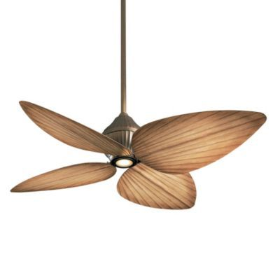 For a screened porch. Ballard Designs - South Coast Indoor/Outdoor Ceiling Fan