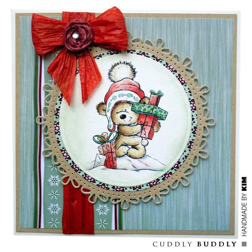 Cuddly Buddly Clear Stamps - Time for Giving CBS0008 < Craft Shop | Cuddly Buddly Crafts