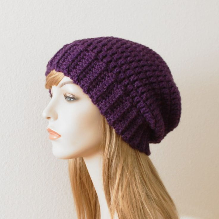 crochet chunky beanie pattern DIY and crafts Pinterest ...