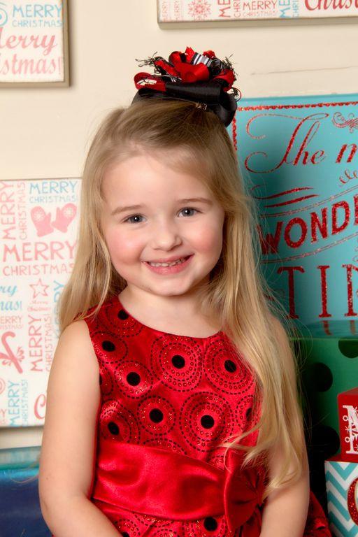 """Christmas Smiles"" Portrait Creations Professional Children's Studio in Charlotte, NC."
