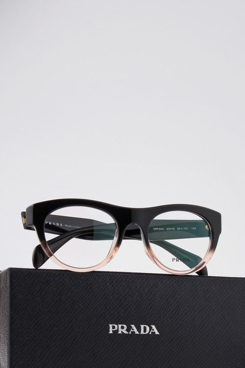 Prada optical frame.