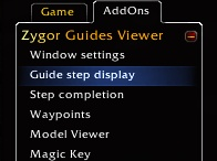 http://www.100percentbestchoice.com/zygor-guide/  100% In-Game Guides  Use all of your strategy guides inside World of Warcraft  ZYGOR GUIDES IS SAFE, EASY, AND RISK FREE.  Get limited access to Zygor Guides with our free trial now.  What Do I get?  We offer in-game World of Warcraft guides that dynamically tell you everything you need to do to power level your characters, complete dailies, make gold, unlock rare items, earn achievements more.  http://www.youtube.com/watch?v=GXdceaV4Ahw