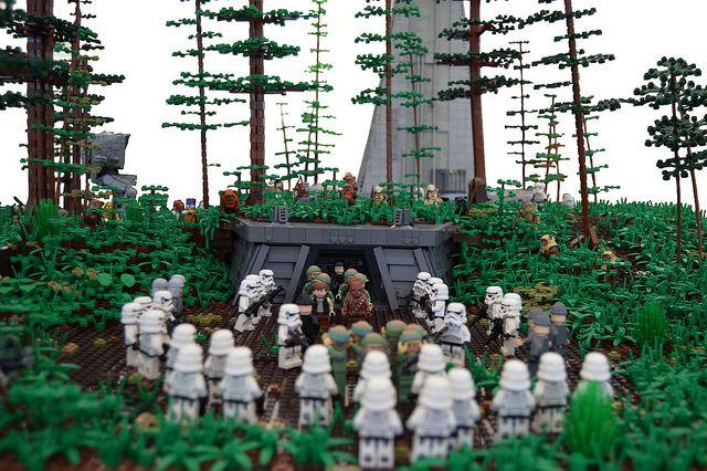 Page 1 Of 2 Battle Of Endor Posted In Star Wars Eigenbauten Hallo Zusammen Es Ist Jetzt Gut Ein Halbes Jahr Vergangen A Legoland Cooles Lego Lego Baum