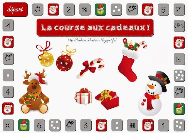 La maternelle de Laurène: La course aux cadeaux numération noel