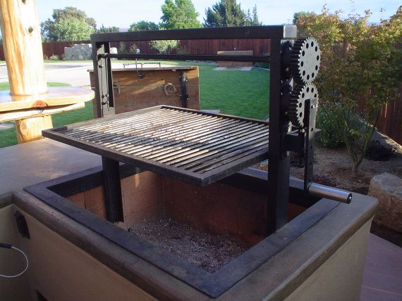 Custom Santa Maria BBQ's by LeasureConcepts on Etsy, $3000.00