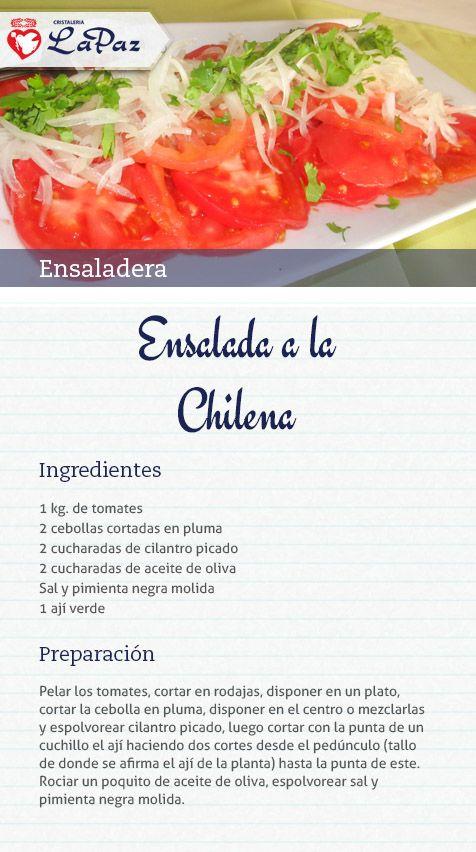 Ensalada a la chilena