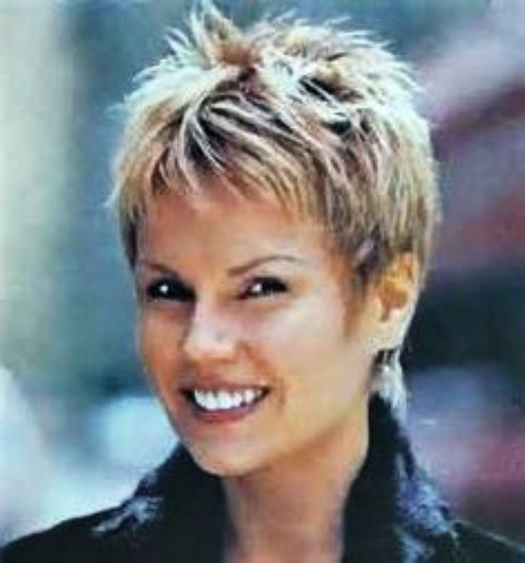 Very Short Spiky Hairstyles Women on Short Hairstyles Very Related