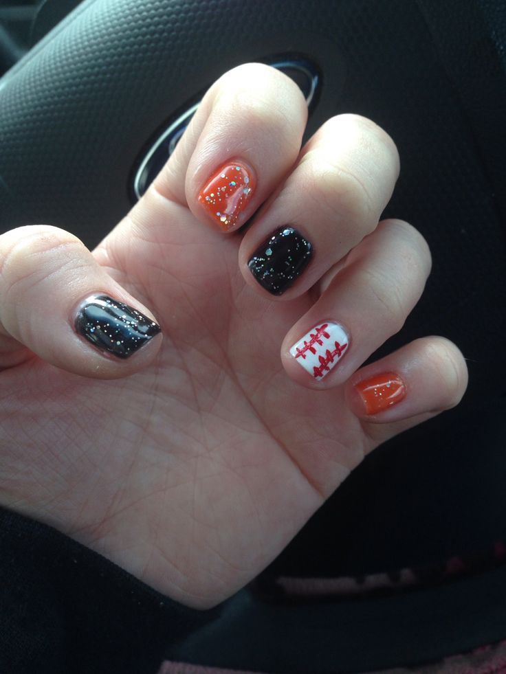30 best cute sf giants nails images on Pinterest | Sf giants nails ...