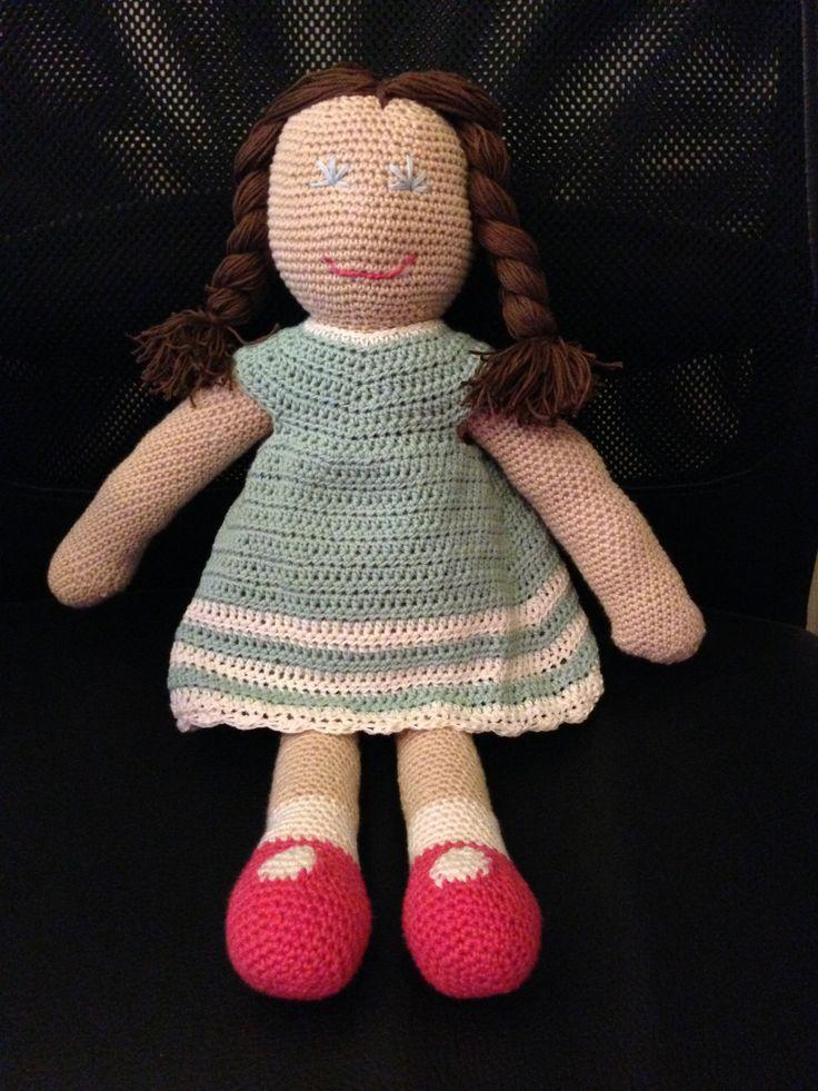 Crochet doll - Hæklet dukke
